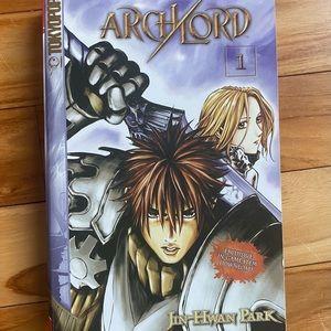 Archlord Vol.1 Manga By Jin-Hwan Park